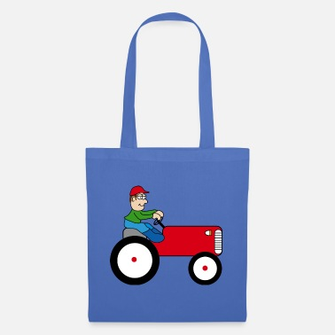 Tractor Towing Tractor | Towing truck Trecker | Bulldog | farmer - Tote Bag