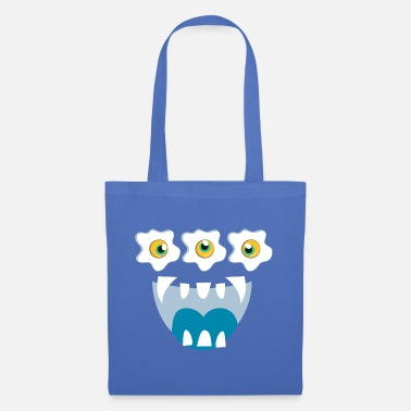 Monster on the Road - Tote Bag