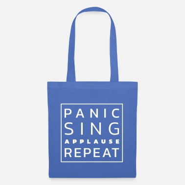 Stage Fright Panic - Sing - Applause - Repeat - Tote Bag