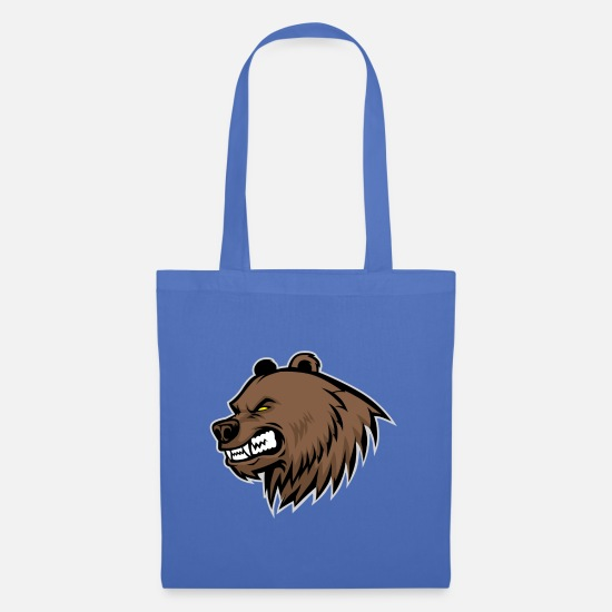 Animal Rights Activists Bags & Backpacks - Bear mascot - Tote Bag light blue