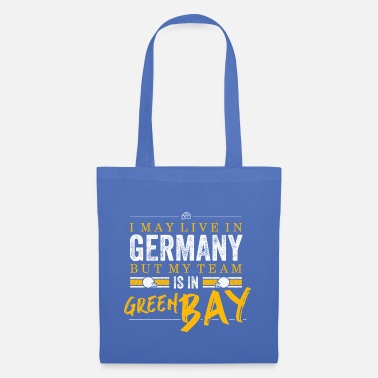 Live Green Bay Football Fans Germany - Stoffbeutel