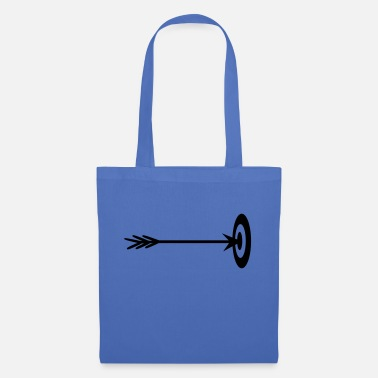 Arrow And Bow target archer center hit arrow bo - Tote Bag