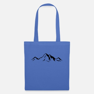 Alps Mountains berge_01 - Tote Bag