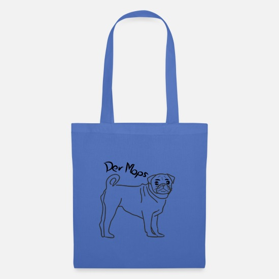 Gift Idea Bags & Backpacks - The Pug - The Pug - Tote Bag light blue