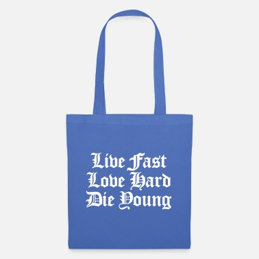 Music live fast love hard - Tote Bag