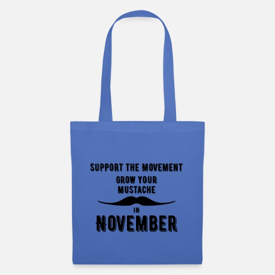 Gift Idea Bags & Backpacks - Men's Health campaign in November - Tote Bag light blue