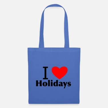 Holiday I love holidays - Tote Bag