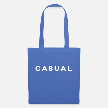 CASUAL WHITE - Tote Bag