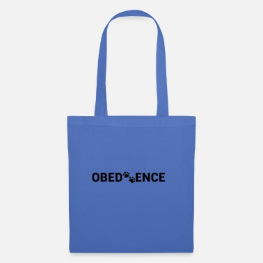Obedience Obedience paw - Tote Bag