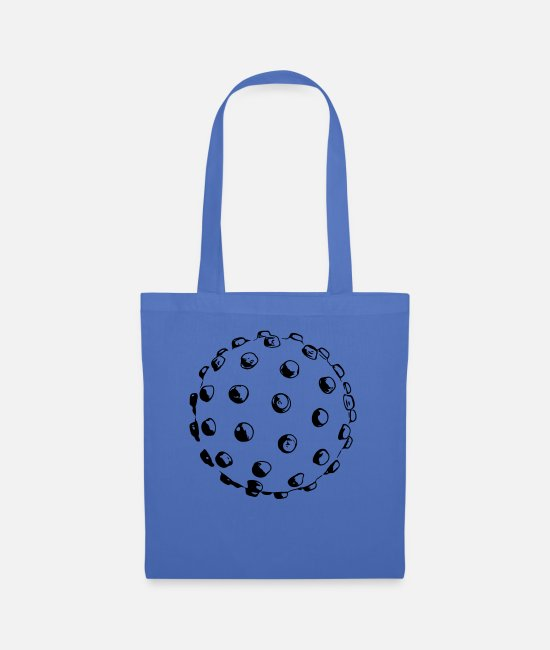 At Least Bags & Backpacks - Mindsweeper - Tote Bag light blue