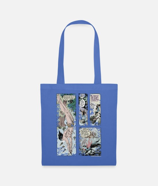 Friendship Bags & Backpacks - Tarzan and Stanly Comic - Tote Bag light blue