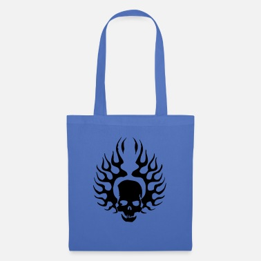 Burning Skull - Tote Bag