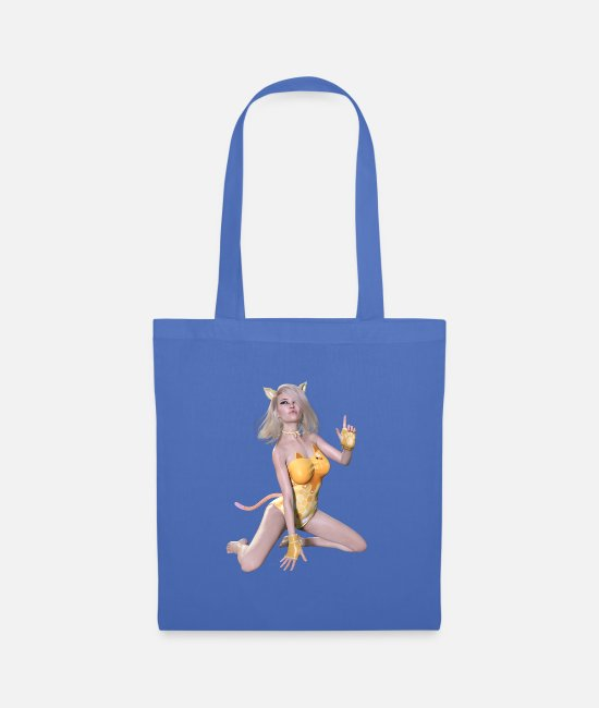 Attractive Bags & Backpacks - New burlesque, sexy woman - Tote Bag light blue