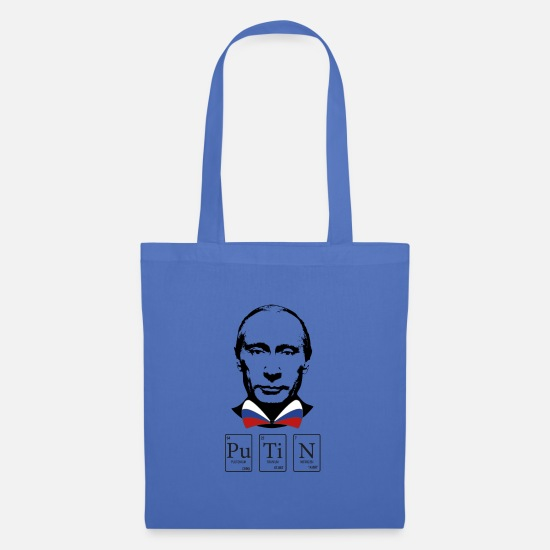 Chemistry Bags & Backpacks - PUTIN - Plutonium, Titanium, Nitrogen - Tote Bag light blue