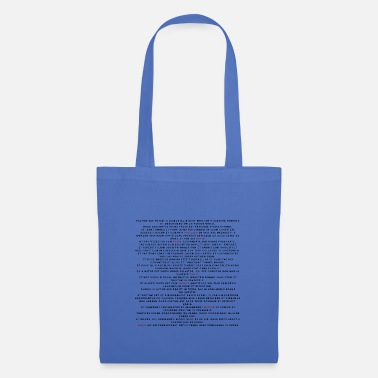 Latin Latin text - Tote Bag