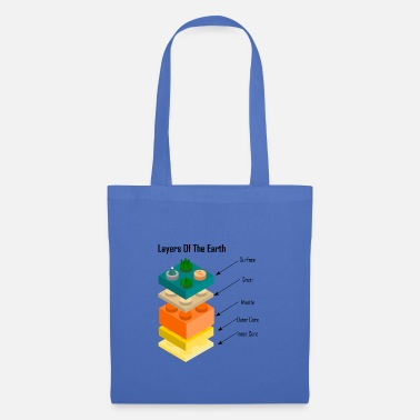 Layer Layers of the Earth - Layers Of The Earth - Tote Bag