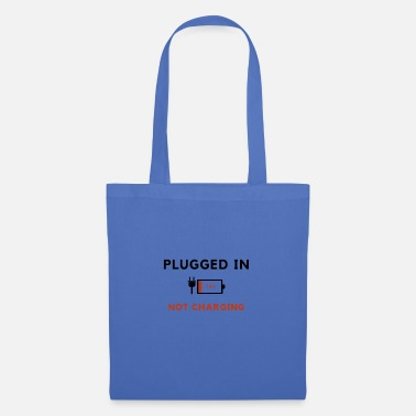 Wireless Plugged in, not charging - Tote Bag