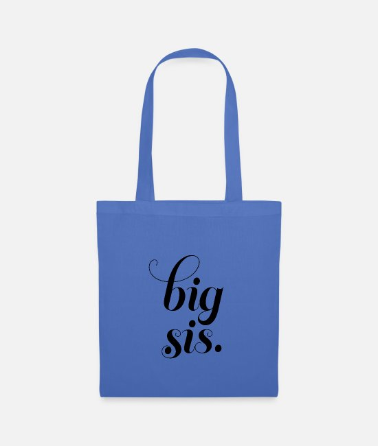 Friendship Bags & Backpacks - big sis - Tote Bag light blue