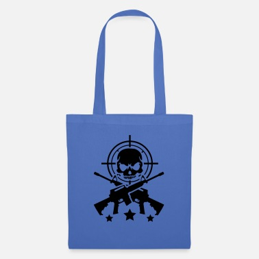 Assault Rifle gun_assault_skull_g1 - Tote Bag
