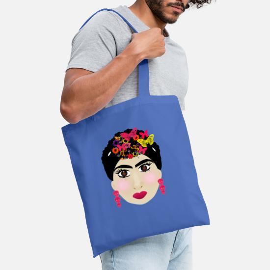 Frida Bolsa de tela   Spreadshirt