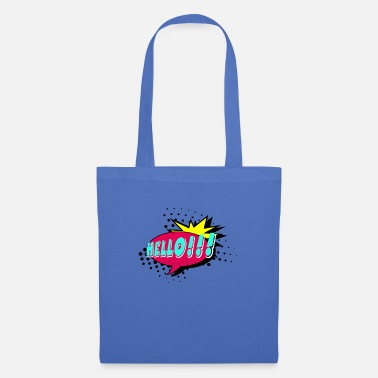 Speech Balloon Speech bubble, speech balloon, pop art, text bubble - Tote Bag
