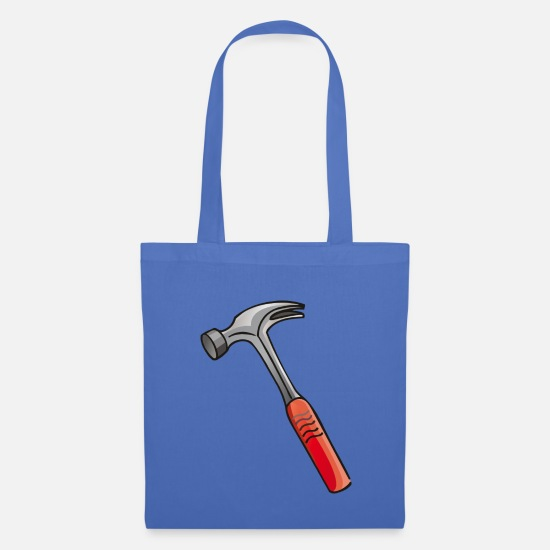 Hammer Bags & Backpacks - Hammer hatchet - Tote Bag light blue