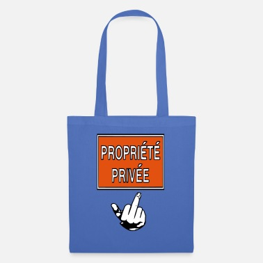 Privateer private property - Tote Bag