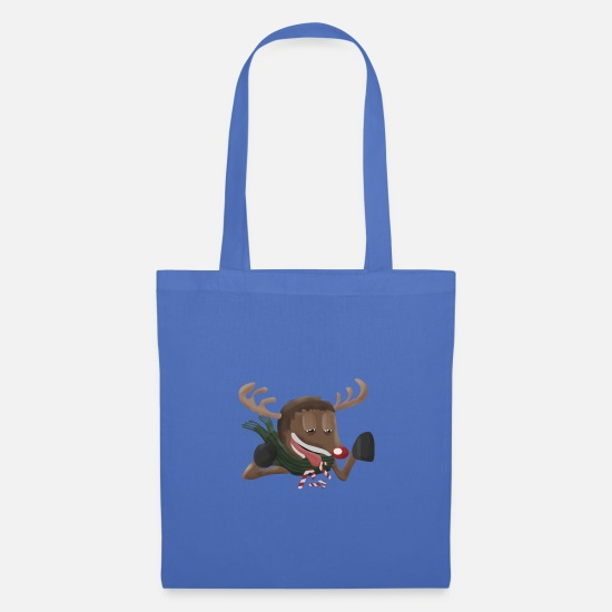 Reindeer Bags & Backpacks - Rudolf - Tote Bag light blue
