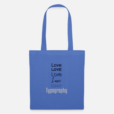 Typography typography - Tote Bag