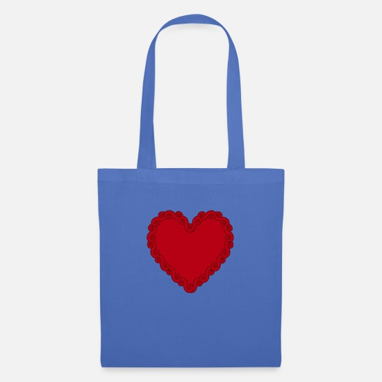 Sex Bags & Backpacks - heart - Tote Bag light blue