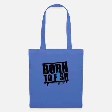 Brochet born_to_fish_py2 - Sac en tissu
