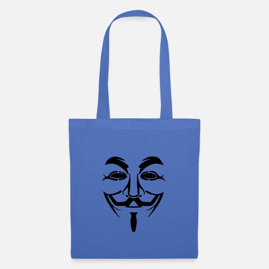 Hack Bags & Backpacks - Anonymous - Tote Bag light blue