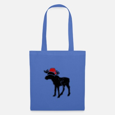 Advent Christmas Moose Christmas Cap Funny - Tote Bag