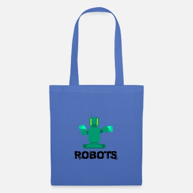 Machine Robot kids gift idea - Tote Bag