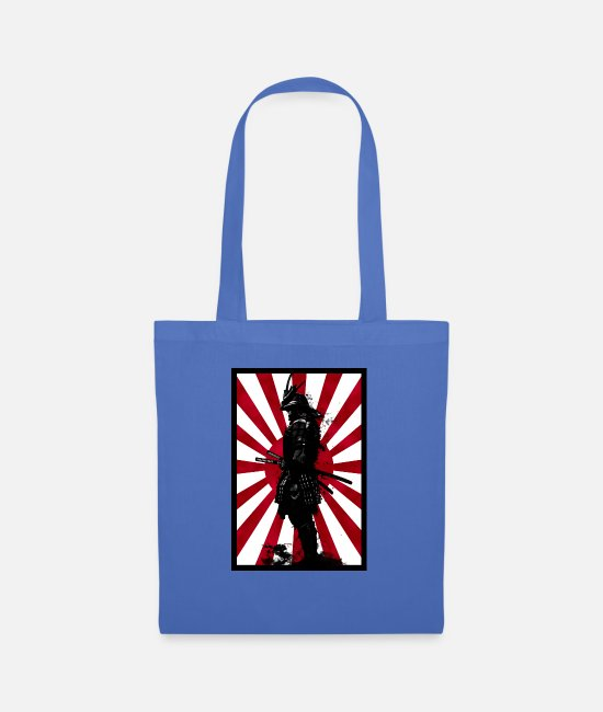 Art Bags & Backpacks - Samurai - Tote Bag light blue