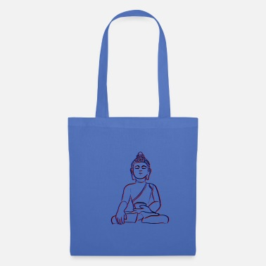3d Yoga Buddha in 3D - Tote Bag