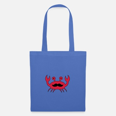 Crab Crab with mustache - Tote Bag