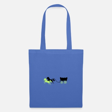 Pony carriage horses 2 - Tote Bag