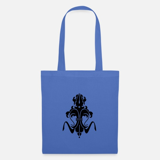 Jewelry Bags & Backpacks - stylized bourbon lily - Tote Bag light blue