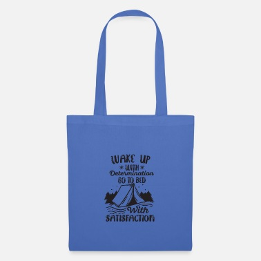 Wake Up With WAKE UP WITH DETERMINATION - Tote Bag