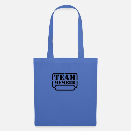 Cool Bags & Backpacks - name your team member - Tote Bag light blue