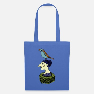 Nest In the nest colorful - Tote Bag