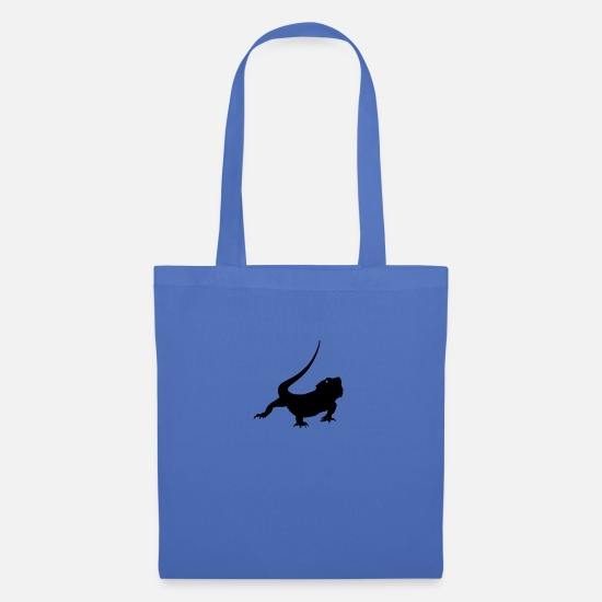 Salamander Bags & Backpacks - lizard - Tote Bag light blue