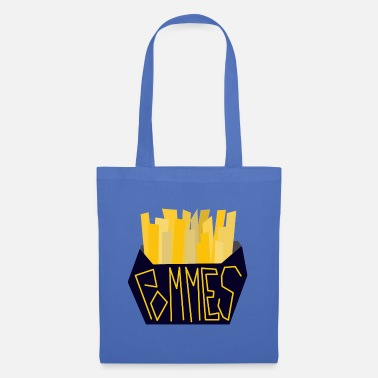 Crispy French fries illustration guys - Tote Bag
