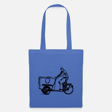 Bike Messenger Bicycle Messenger - Tote Bag