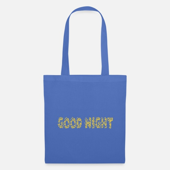 Starry Sky Bags & Backpacks - Good Night - stars - Tote Bag light blue