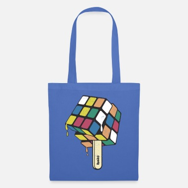 Cube Rubik's Cube Ice Lolly - Tote Bag