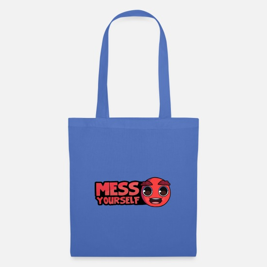 Youtube Bags & Backpacks - Messyourself merch youtube - Tote Bag light blue