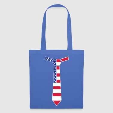 Krawatte Stars and Stripes, USA Krawatte - Bolsa de tela