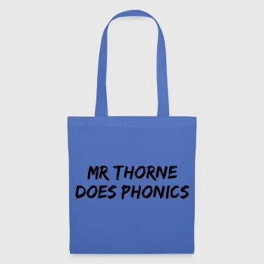 Mr Thorne Does Phonics Tote Bag (Blue) - Tote Bag